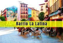 Barrio de La Latina en Madrid capital
