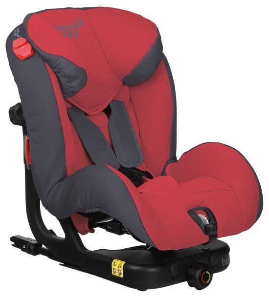 Casualplay Beat Fix - Silla de auto, color rojo